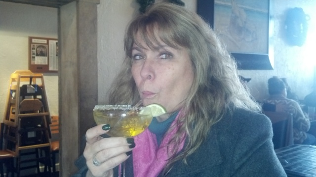 Anne with her Margarita