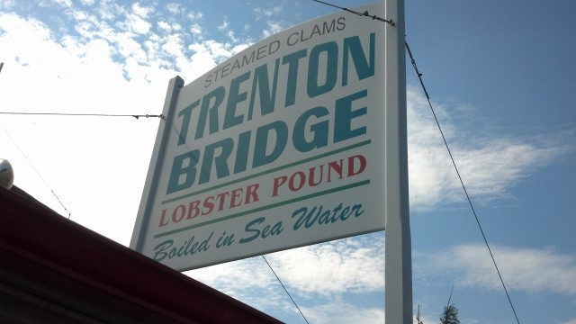 The Trenton Bridge Lobster Pound...AMAZING