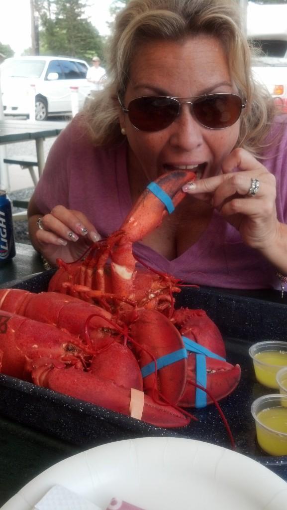 Anne kinda likes seafood