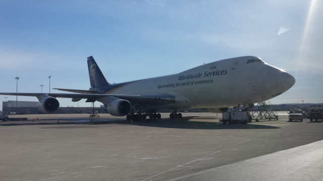 747-400 UPS Chartered 10 of these at $60,000 a day plus crews and fuel.  I do not feel guilty about what they paid us