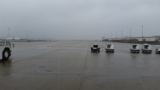 Christmas Eve and an empty ramp 9