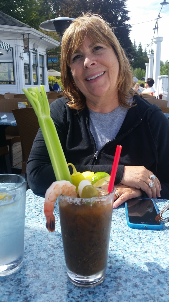 Nor THAT is a meal in a glass.  Bloody Mary at Roche Harbor